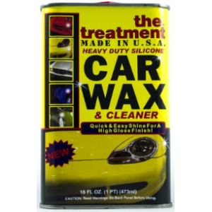 The Treatment Heavy Duty Silicone Car Wax 473 ml.