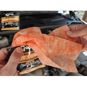 Goop Orange Hand Cleaner kéztisztító kendő 10 db
