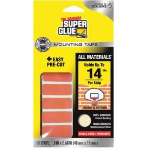 Super Mounting Tape extra erős kétoldalú ragasztó csíkok
