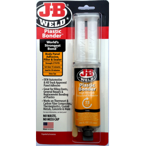 J-B Weld Plastic Bonder borostyán színű 25 ml.