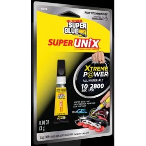 SuperUnix újgenerációs pillanatragasztó gél 3 g.